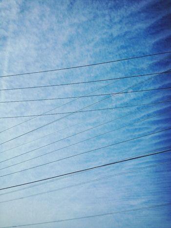 Smart Simplicity Sky Geometric Shapes Clouds
