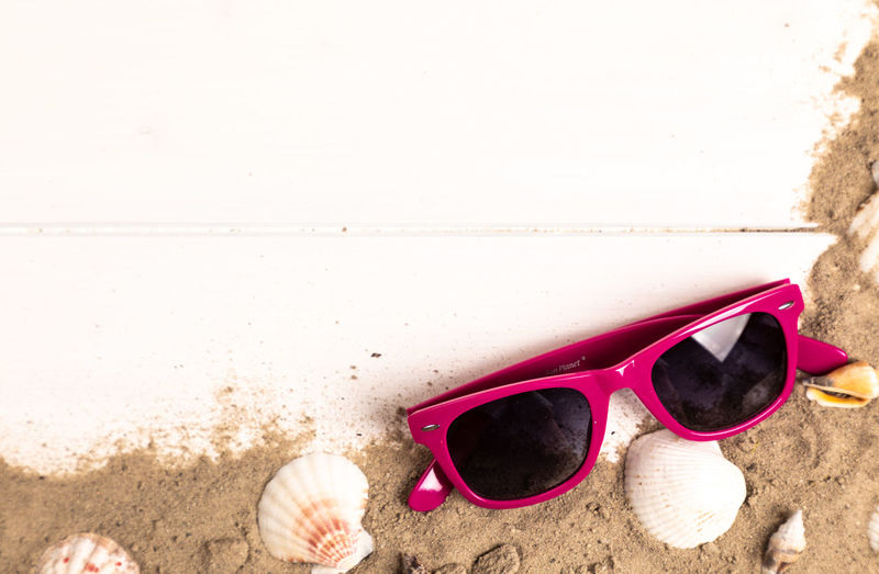 Beach Copy Space Day Eyewear Fashion Glasses Holiday Land Nature Outdoors Personal Accessory Sand Sandal Sea Shoe Sky Slipper  Starfish  Sunglasses Trip Vacations Water