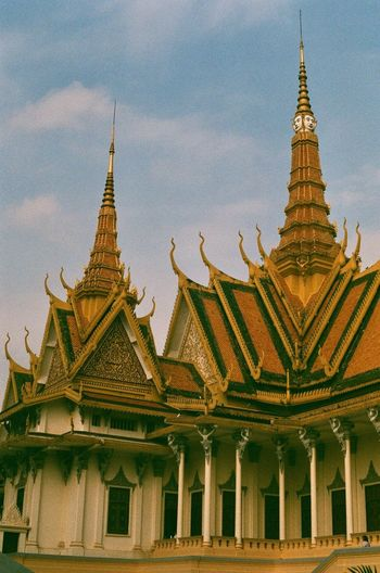 Cambodia Film Photography Ae-1 Canon Built Structure Religion Place Of Worship Architecture Belief Building Exterior Building Travel