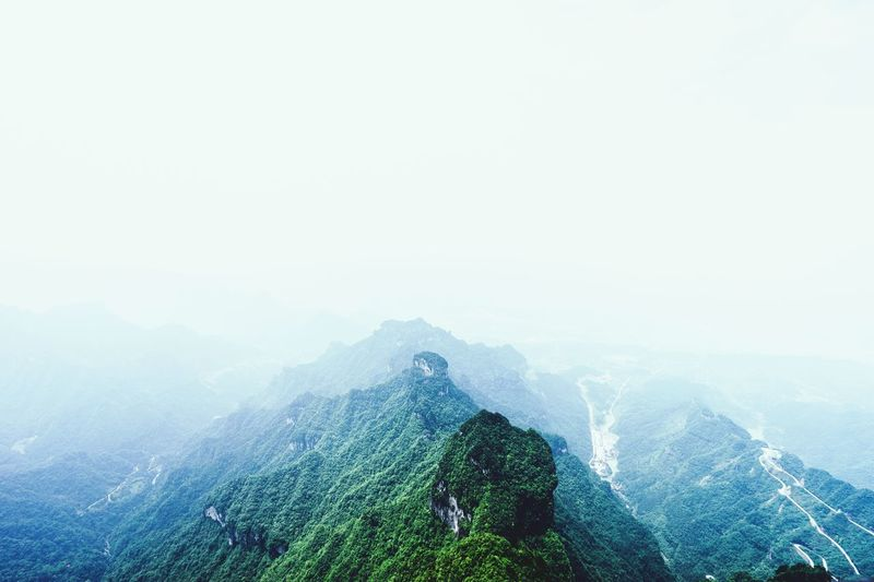 Tianmen Mountain Tianmen Mountain Tianmenshan Mountains Mountain View Mountains And Sky Landscape_photography Landscape First Eyeem Photo The Great Outdoors - 2016 EyeEm Awards The Great Outdoors