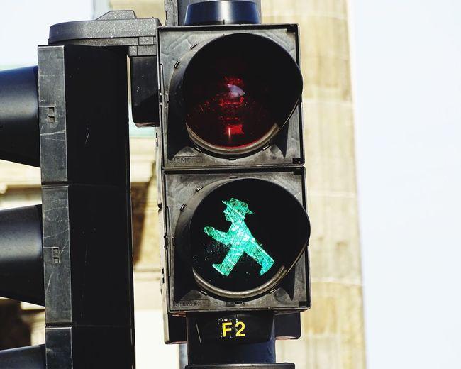 Close-Up Of Green Signal
