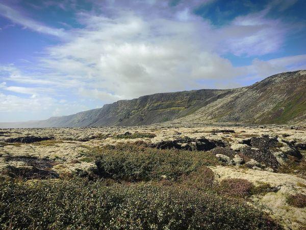 Iceland Lava Rocks Mountain