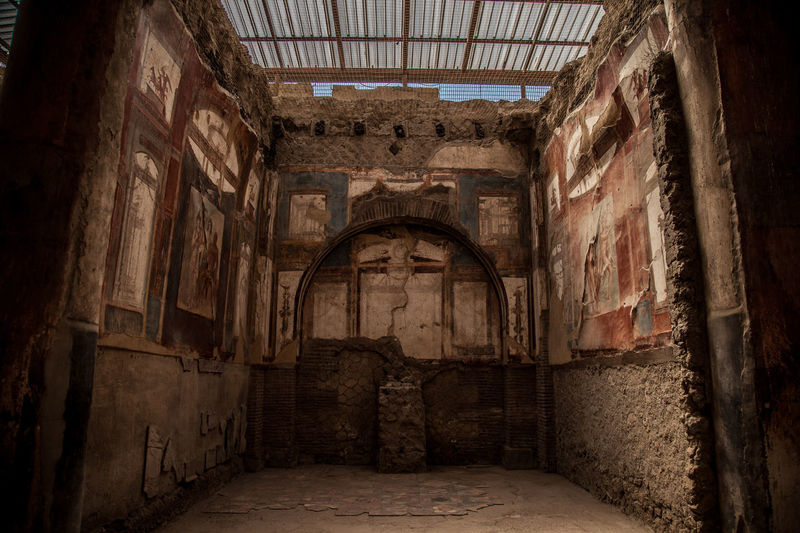 Abandoned Absence Ancient Ancient Civilization Arch Archaeology Architecture Belief Building Built Structure Ceiling Day Dirty Fear History Horror Indoors  No People Old Punishment Religion Spooky The Past