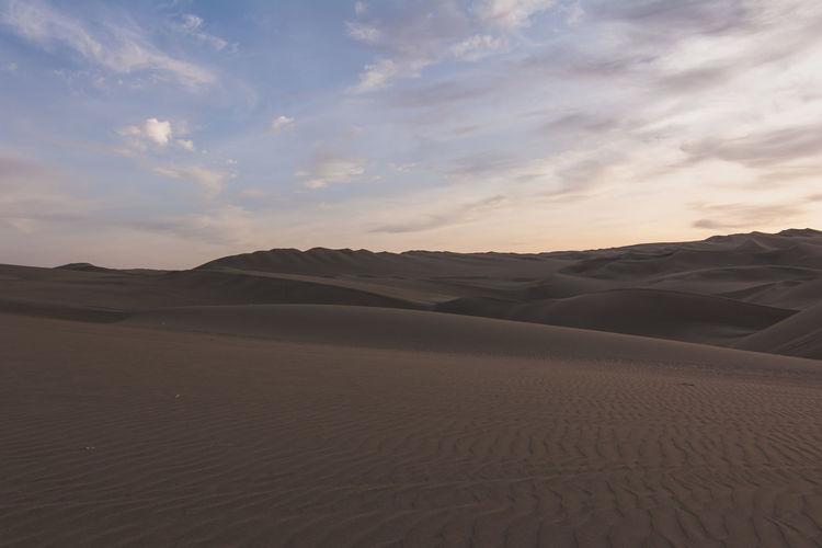 Rippled Sand In Desert