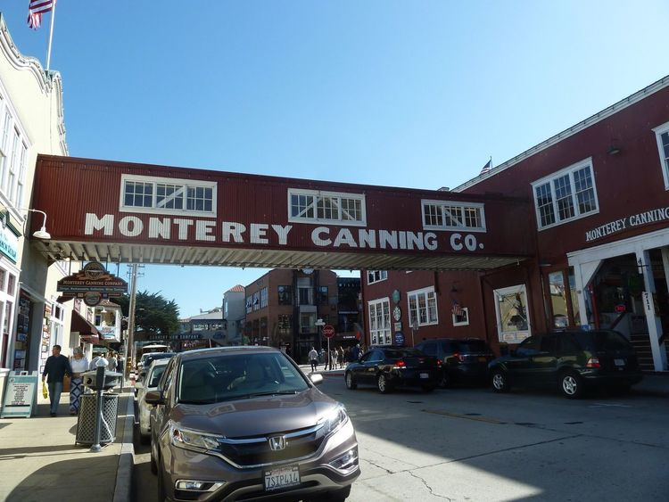 Built Structure Building Exterior Car Architecture Clear Sky Outdoors Streetphotography Travel Photography Tourism Monterrey Cannery Row CA🇺🇸 Steinbeck PCH California Coast California Costal Town USA