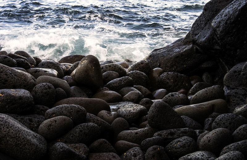Sea Nature Day No People Beauty In Nature Stone Italia Catania Tranquility Pietralavica Sicilia