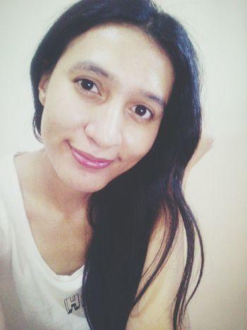 Natural me.. hehe.. Selfie Me Merissayasmina
