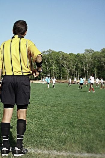 Referee Soccer Photgraphy Field Grass Jaysphotography