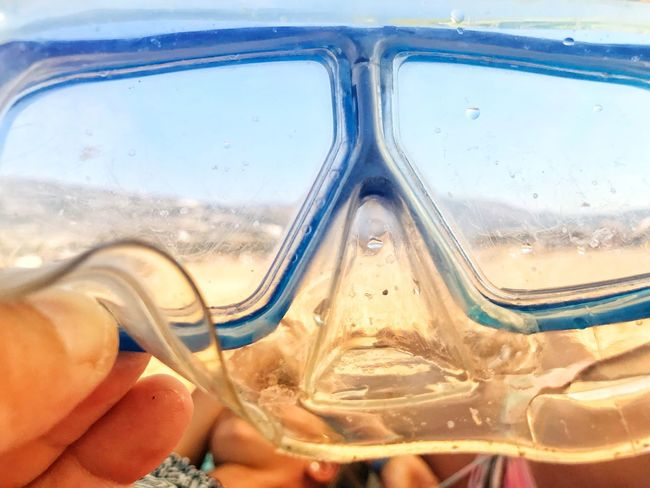 Close-up Water Glass - Material Sea Nature Day Transparent