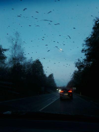 •rainy day• Car