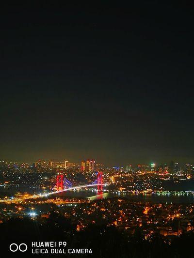 İstanbul manzarası Iatanbul çamlıcatepesi City