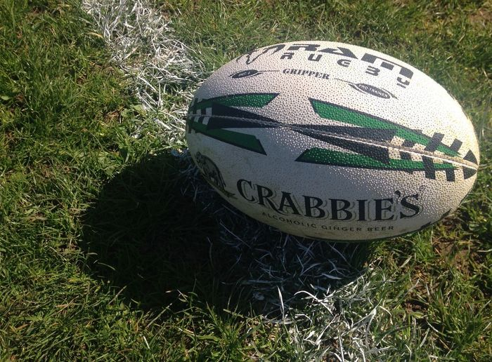 Taken on an iPhone 5C with no editing. Outdoors Rugby Rugby Union Rugby Ball Ram Rugby Crabbies Field EyeEmNewHere EyeEmNewHere