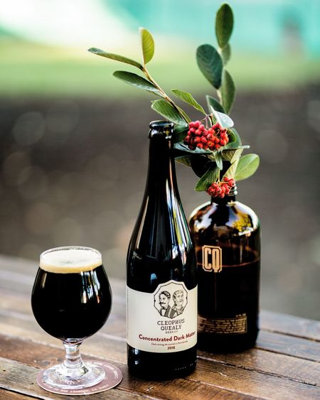 Dark beer Beer Flower Flowering Plant Plant Vase Table Freshness Autumn Mood No People Food And Drink Nature Glass Container Still Life Refreshment Drink Decoration Alcohol Food Close-up