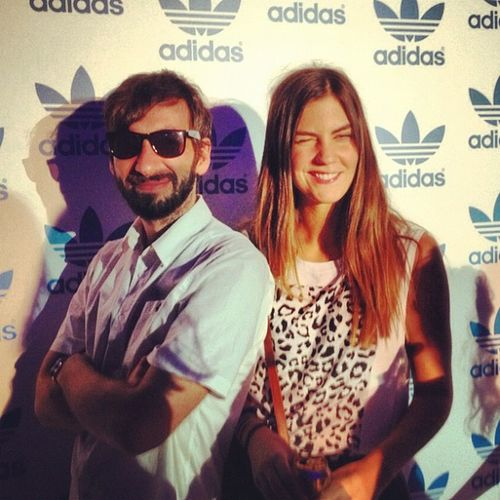 With Steff Adidasoriginalsparty