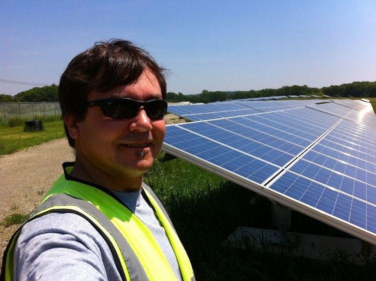 Post-Industrial Age Farming... Greenfield Landfill Solar Farm