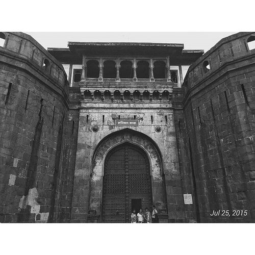 Chapter: Pune Shaniwarwada (Śanivāravāḍā) is an 18th-centuryfortificationin the city ofPunein Maharashtra,India. Built in 1746,it was the seat of thePeshwarulers of theMaratha Empireuntil 1818, when the Peshwas lost control to theEast India Companyafter theThird Anglo-Maratha War. Following the rise of the Maratha Empire, the palace became the center of Indian politics in the 18th century. The fort itself was largely destroyed in 1828 by an unexplained fire, but the surviving structures are now maintained as a tourist site. Pixlr Blackandwhite Indiaphotosociety ancient Punebytheday Wada Peshwa Snapseed Puneclickarts Monument History Traveller Travellerslife Pictureoftheday Picoftheday Instadaily Instagood _soi Incredibleindia Shivaji @puneclickarts @punebytheday @streets.of.india Maharashtra_ig Maharashtra Lonelyplanetindia