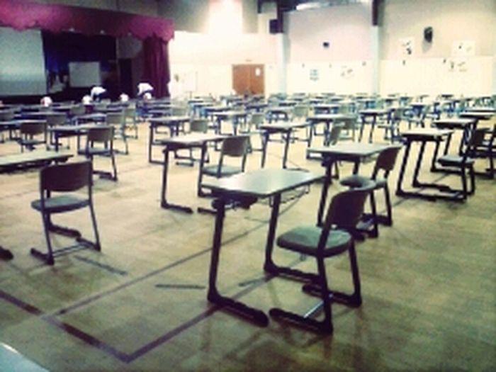 The exam hall