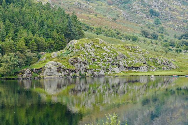 Snowdonia, Wales. Reflection Landscape Water Tree City No People Outdoors Nature Eyesight Day Reflections Reflection_collection Reflections In The Water Water Reflections Reflections And Shadows