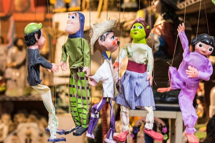 My Hobby Puppets Colors Mercado Juarez Puppeteer
