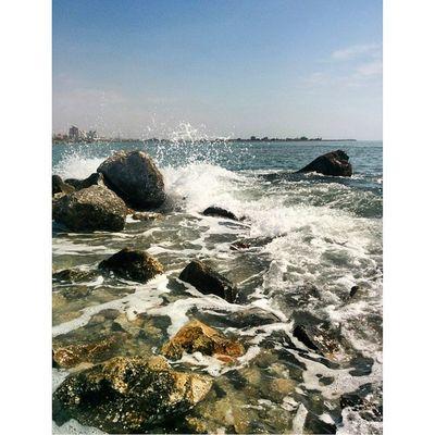 . Iran BandarAbbas Mustseeiran Hormozgan See Sky Water Blue SadeghRna Love Sun بندرعباس هرمزگان دریا جنوب عشق ایران_را_باید_دید Friday, March 6 2015 SadeghRna