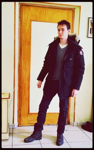 Il fait encor trop froid pour moi. :) Canada Goose
