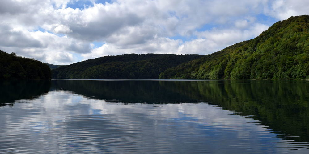 Calm Cloudy Day Nature Outdoors Reflection Scenics Sky Tranquil Scene Tranquility Water