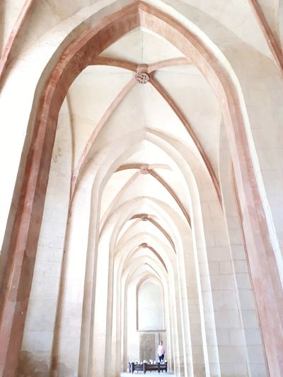 Impressive gothic arches EyeEm Selects City Place Of Worship History Arch Architecture Built Structure Travel Architectural Design Ceiling Architecture And Art Architectural Column Colonnade Abbey Arched Pillar Arcade Architectural Feature