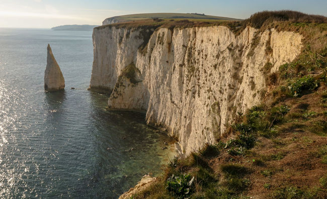Dorset Landscape EyeEm Best Shots EyeEm Best Shots - Landscape Sea Beach UnderSea Sunset Cliff Rock - Object Sand Dune Sky Horizon Over Water Architecture