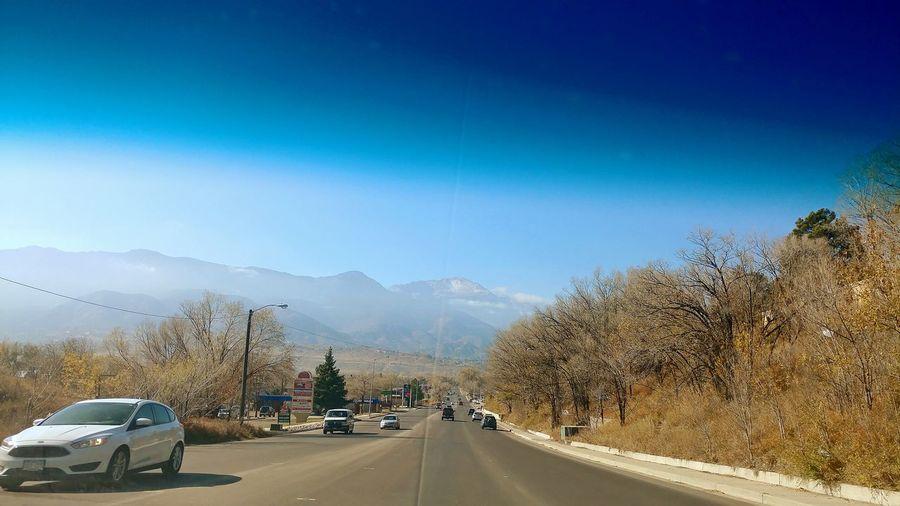Car Road Land