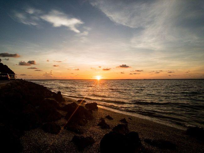 Water Sea Sky Sunset Scenics - Nature Horizon Beach Horizon Over Water Cloud - Sky Sunlight Tranquility Nature Tranquil Scene No People The Great Outdoors - 2018 EyeEm Awards