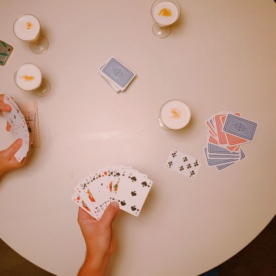 Playing cards +