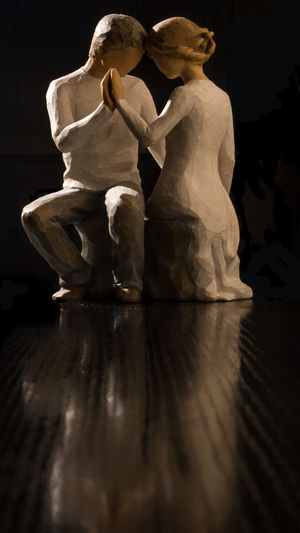 Statue of sculptures