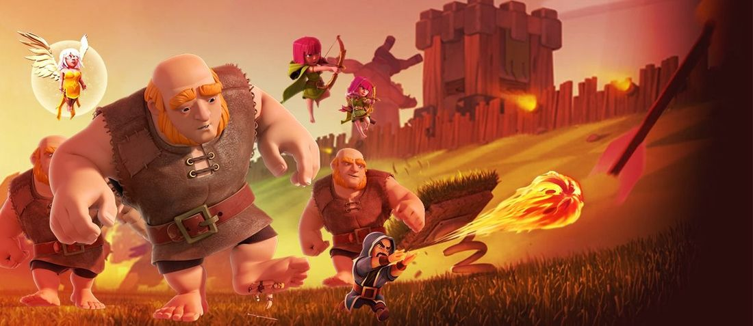 Banner for clash of clans Clash_of_clans Clashofclans ClashOfClan Clashofclansaddict Clashon Clashers Clash Of Clan Human Representation Architecture Built Structure Building Exterior Man Made Object Pink Color No People Mask - Disguise First Eyeem Photo