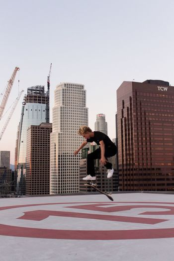 Battle Of The Cities skating on top of 15/ LA