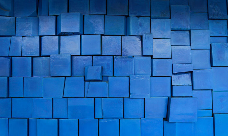 blue squared background Square Architecture Art Backgrounds Block Block Shape Blue Close-up Contrast Cube Shape Design Desıgn Full Frame Geometric Shape In A Row Indoors  Large Group Of Objects Minimal Pattern Repetition Shape Simple Background Textured  Tile Wall - Building Feature The Architect - 2018 EyeEm Awards