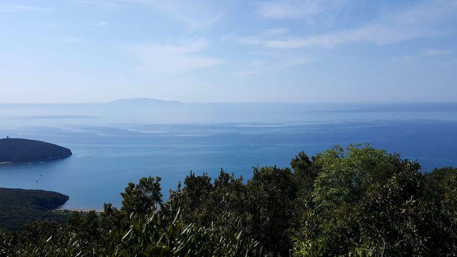 Cielo, mare, macchia mediterranea Hiking Adventures Hikingphotography Parco Della Maremma