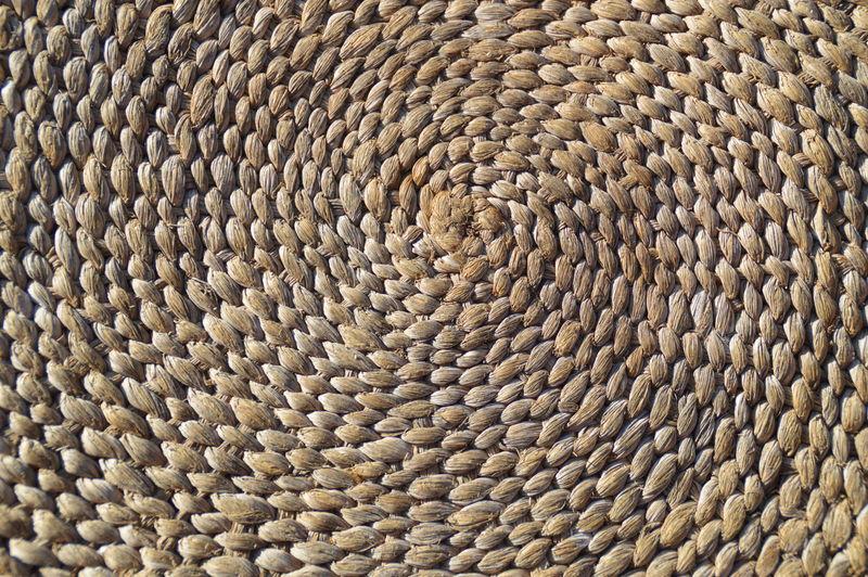 Full frame shot of hemp rag