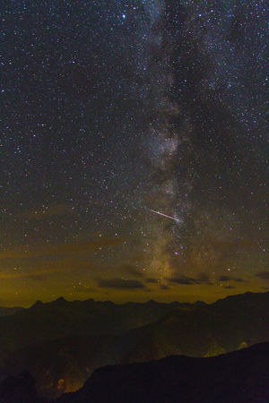 Light Light Pollution Mountain View Nightphotography Cloud - Sky Milky Way Milkywaygalaxy Mountain Mountain Peak Mountains And Sky Night Night Landscape Star Stars Fresh On Market 2017