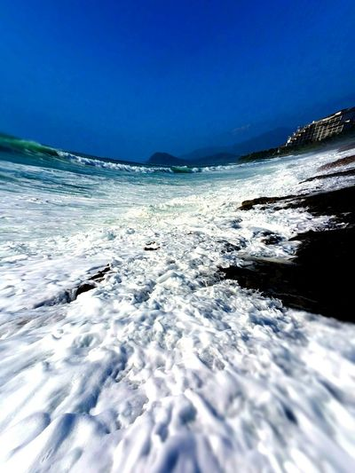 Surrounded by ocean Life Is A Beach Taking Photos Enjoying Life Sharing Views From Hawaii Beaches Outdoor Beach Photography Tranquility Nature Photography Ocean View Seaside Ocean_Collection ~~