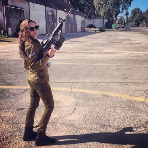 Army Israeligirls Israel M16 idf russian russiangirls