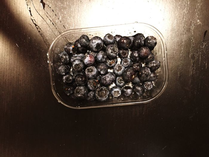 Myrtilles Fruit Fruits Summer