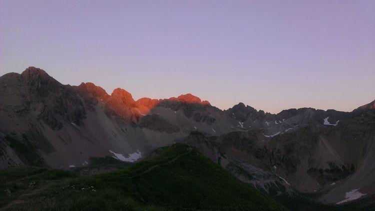 Alpenglühen Mountains E5 Landscapes