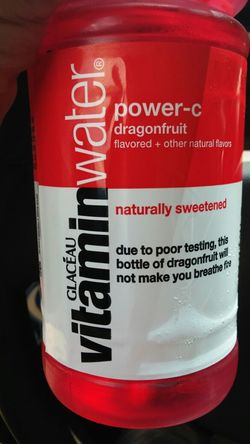 Dammit, I wanted breathe fire!! Vitaminwater Dragonfruit Refreshing
