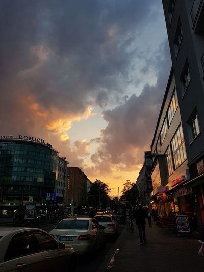 Sunset Sky Beauty Berlin Berlinstagram