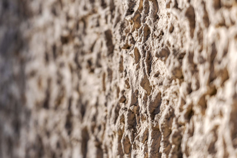 Decorative exterior wall plaster with embossed surface. Selective focus image No People Backgraund Wallpaper Pattern Texture Architecture Close-up Details Full Frame Textured  Wall - Building Feature Backgrounds Built Structure Day Outdoors Nature Rough Wall Plaster Design Relief Decorative Backdrop Cement Surface Blank Copy Space Concrete Structure Stone Material Decor Old Exterior Façade Style Plastering Grain Building Template