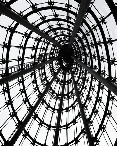 Neukölln Arcaden. Low Angle View Pattern Architecture Built Structure No People Berlin, Germany  Eye4photography  Eyeem Best Shot EyeEm Gallery EyeEm Best Shots - Architecture EyeEm Best Edits Architecture And Art Architecture_collection Architecture Travel Destinations From My Point Of View Berlin, Germany