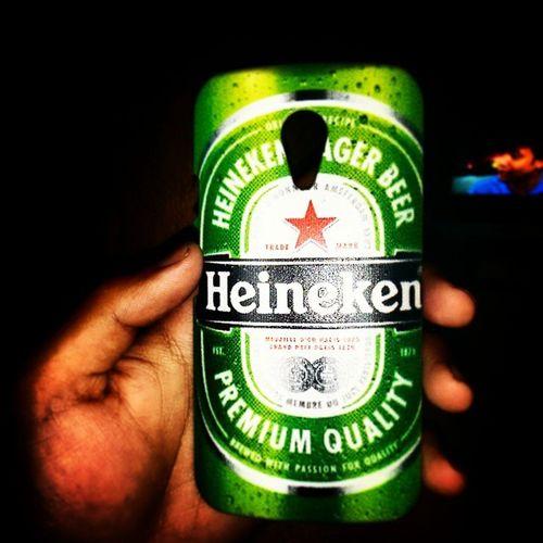 Newcase  Heineken Beerlover Motofoto awsumness instagrammers instalike instaclick picofdaday happiness randoms