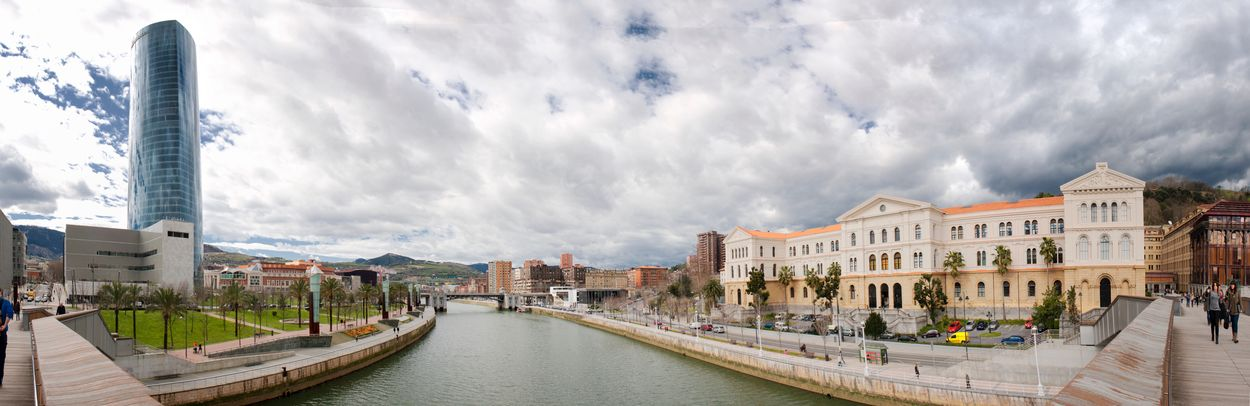 Architecture Basque Country Bilbao Building Exterior Built Structure City Cityscape Cloud Cloud - Sky Cloudy Deusto Euskadi Euskal Herria Euskalherria Landscape Nervion Nervion River Outdoors Pais Vasco Panorama Panoramic Panoramic Landscape Panoramic Photography Panoramic View Landscapes With WhiteWall