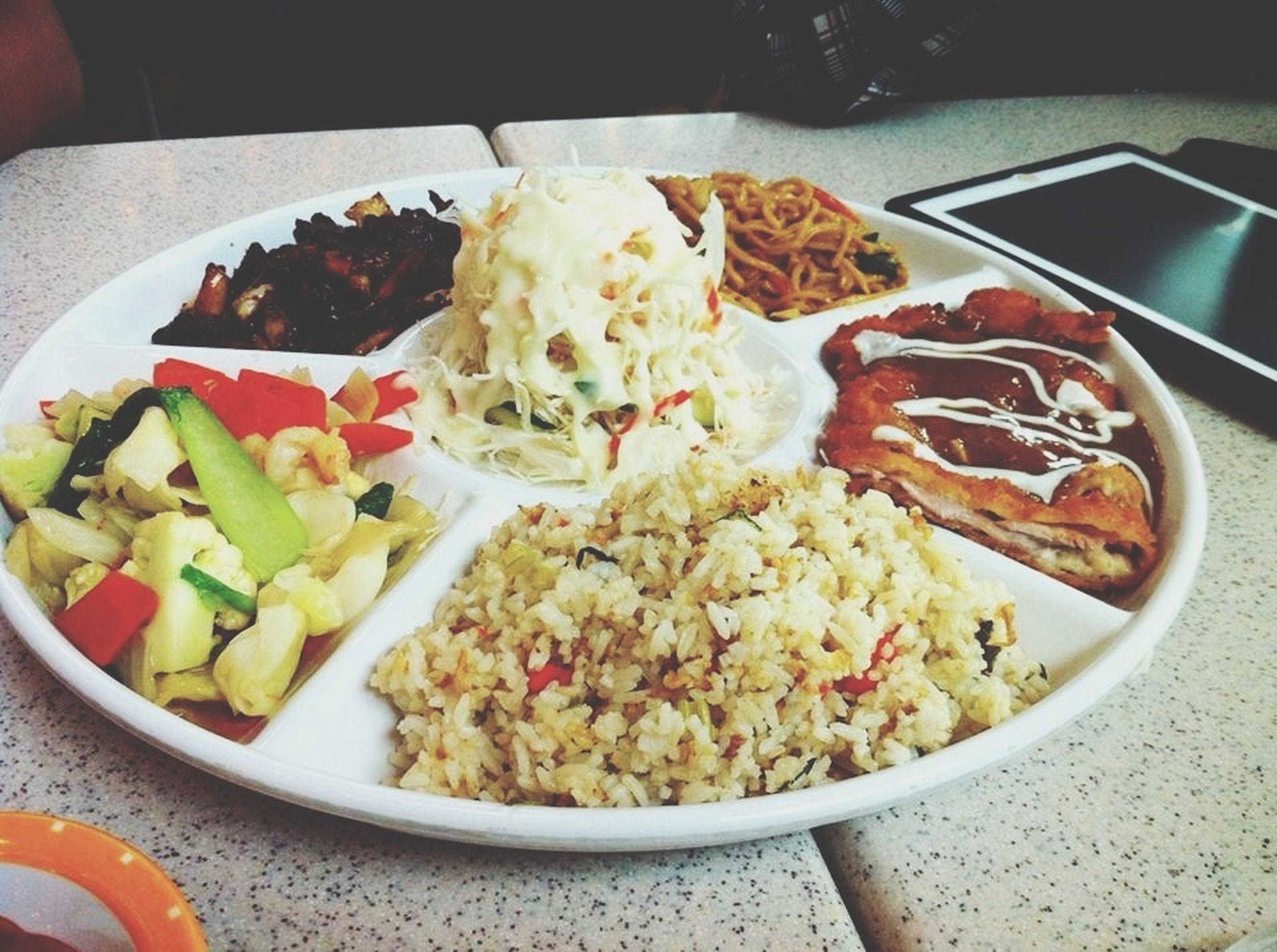 food and drink, food, freshness, indoors, ready-to-eat, healthy eating, plate, still life, close-up, meal, serving size, table, bowl, vegetable, indulgence, salad, high angle view, seafood, served, no people