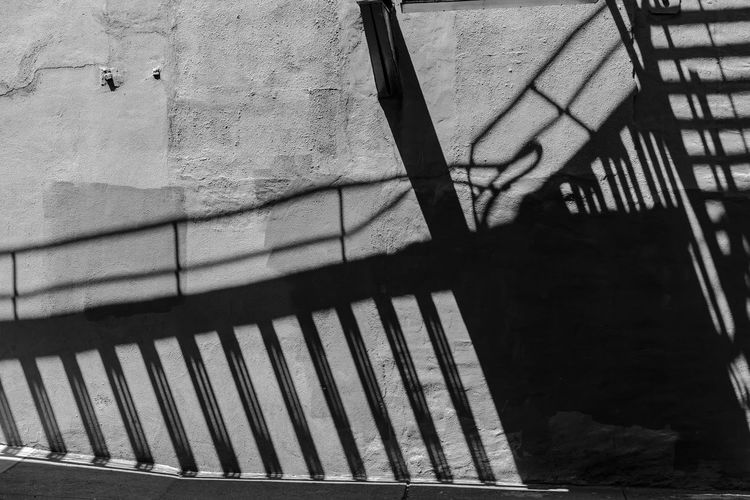 fire escape shadows Shadow Sunlight Pattern Architecture Fireescape Shadow Black And White